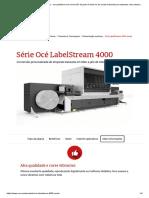 Série Océ LabelStream 4000