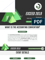 Exceed 2019 Accounting Convention Primer