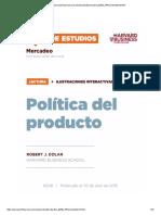 Politica Del Producto