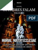 Mariae, Mater Ecclesiae