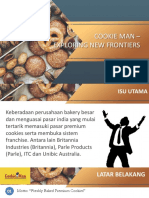 Cookie Man Marketing Case