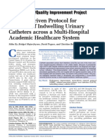 A Nurse-Driven Protocol For