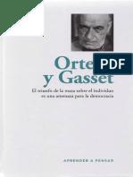Aprender a pensar - 46 - Ortega y Gasset.pdf