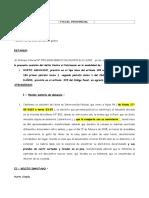 Disposicion de Apertura Hurto Agravado Noche, Inmueble 4611-2015