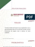 Alerta Por Fraudes