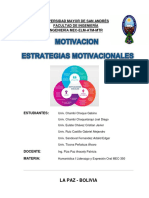 MOTIVACION- ESTRATEGIAS MOTIVACIONALES