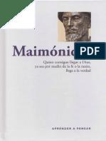 Aprender a pensar - 43 - Maimonides.pdf