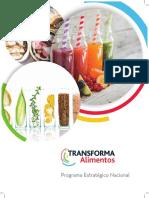 2018 Transforma Alimentos Brochure