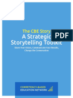 The CBE Story a Strategic Storytelling Toolkit