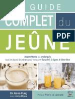 Le Guide Complet Du Jeûne -Jason Fung & Jimmy Moore