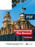 City of Greater Bendigo Independent Review Final Report