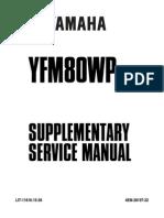 Yamaha Badger-Raptor 80 Service Manual