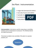 Bahasa Inggris Teknik - Controlling the Plant  ~Instrumentation