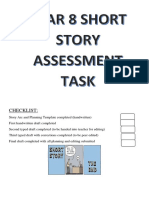 short story writing assessment 2018