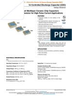 VJ Controlled Discharge Capacitor (CDC)
