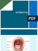 Css Stomatitis, Ulkus Aftosa,