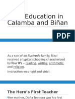 Chapter 3 - Early Education in Calamba and Biñan