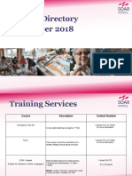 SOAR Activity Directory September 2018