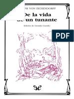 Eichendorff, Joseph Von - De La Vida de Un Tunante [38903] (r1.0)