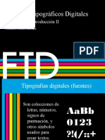 Formatos tipográficos digitales