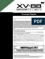 Rland XV-88 Manual Español(Arranque Rapido)
