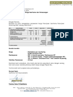Penawaran Geoframe  Subang