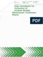 EPA - Design Handbook for Automation of as WWTP
