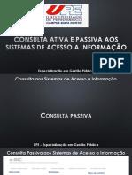 Consulta Do Sistema de Acesso a Informação