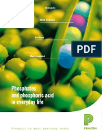 Phosphates and Phosphoric Acid in Everyday Life