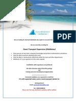 Job Maldives 021719