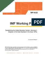 Destabilizing the Global Monetary System