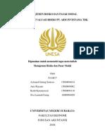 Tugas Pmmr Kelp Galang S_analisis Dan Evaluasi Risiko Abm Investama