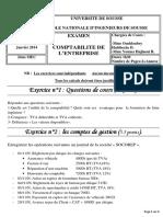 Examen 2014 - Mec