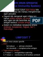 Unsur Imunitas Spesifik