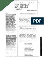 A consciência erótica religiosa do literário em Adélia Prado. Angélica Soares. Verbo de Minas, n°3. Nov. 1999