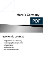 Lecture 2 Marx_s Germany