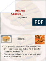 Biscuit and cookies