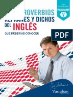 365 Dichos en Inglés (Spanish Edition)