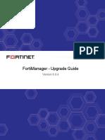 Fortimanager v6.0.4 Upgrade Guide