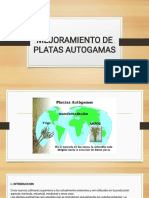 Mejoramiento de Platas Autogamas Diapositivas