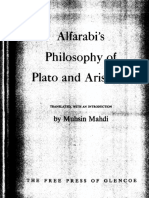 Al-Farabi - Philosophy of Plato and Aristotle