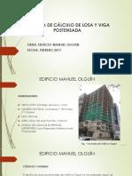 Presentación_ejemplo Losa Postensada