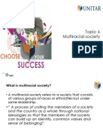 Topic 6 Multiracial Society