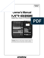 Fostex Mr8hdcd Owners Manual