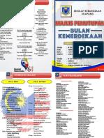 Buku Program PENUTUP Majlis Kemerdekaan 2018 SKJ
