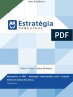 Estratégia - Aula 01 - Discursivas Para PRF - Abordagem Teórico-prática Sobre Produção de Texto- Prof Carlos Roberto