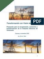 Transformando Con Visión de Futuro, al sector electrico venezolano