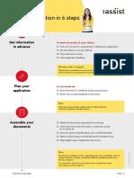 UA Checkliste Standard Verfahren En
