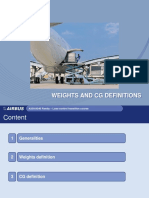 Weights and definitions