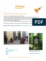 Audiobaladologie et PAS - Parcours audio sensibles